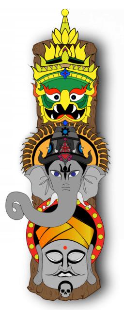 Totem (Digital Illustration)