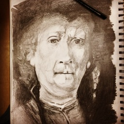 Rembrandt (Charcoal Pencil)